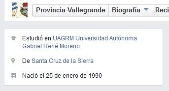 ¿Provincia Vallegrande o particular?