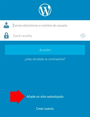 Administrar una web desde un teléfono celular, VENBO