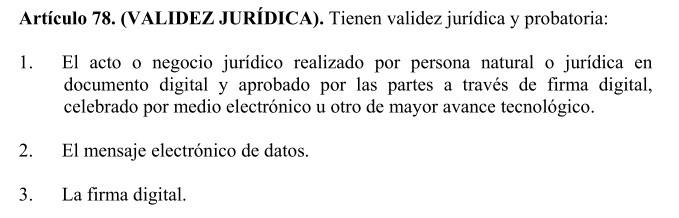 ¿Tiene validez legal un contrato firmado por medios electrónicos?, VENBO